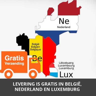 Gratis verzending naar Nederland