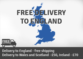 Free delivery to England