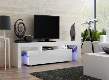 White furniture to the living room