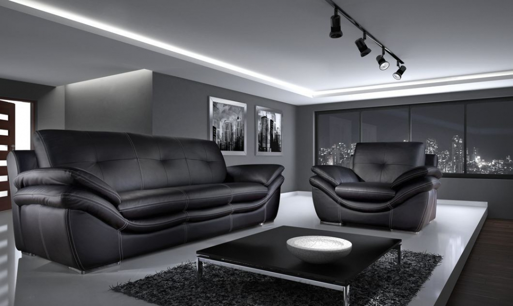 Dakar - 2 seater leather sofa