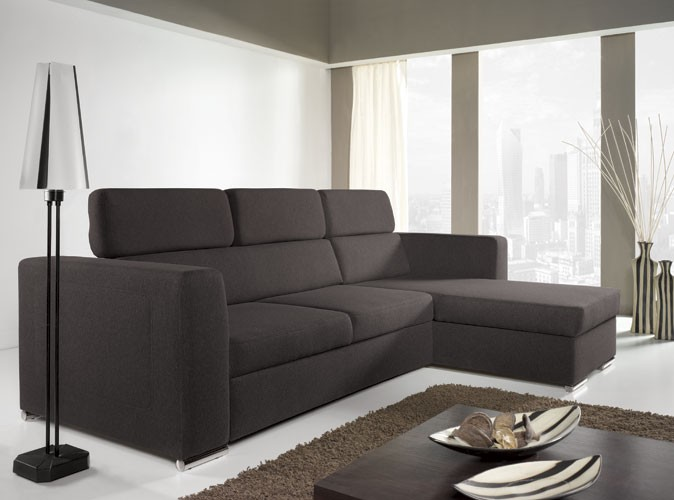 Norwich III - fabric corner sofa bed