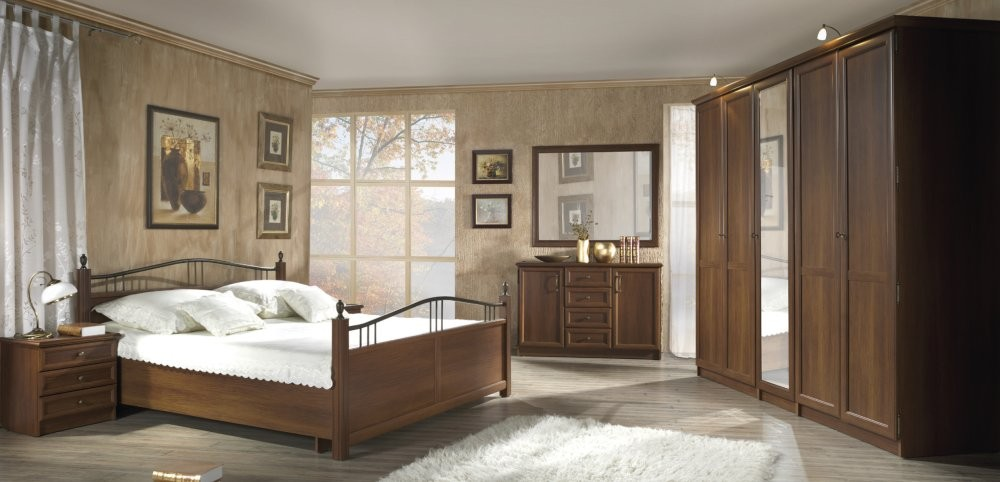 Nevada - walnut bedroom set