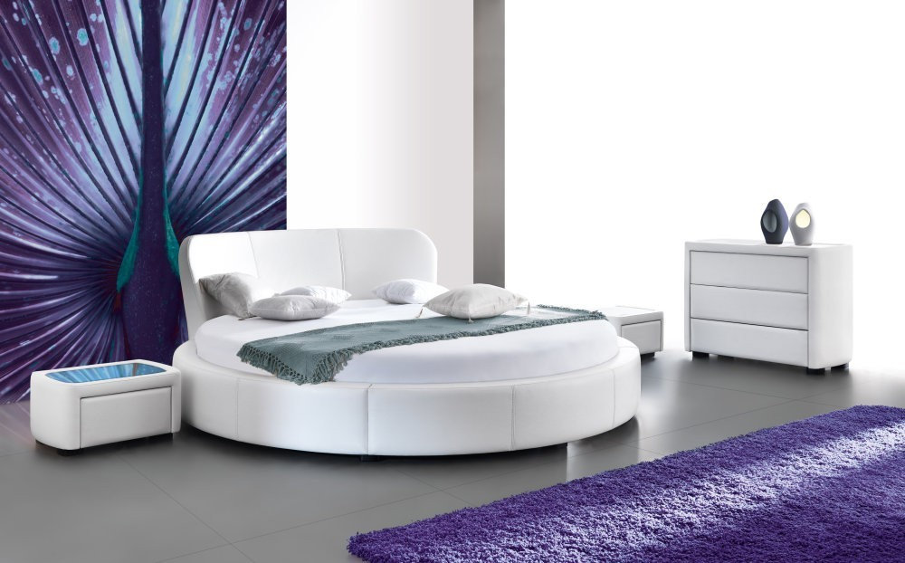 PERLA - round bed for sale