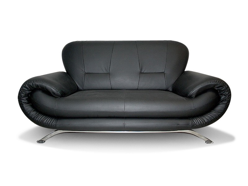 RINA 3 - 3 seater faux leather sofa