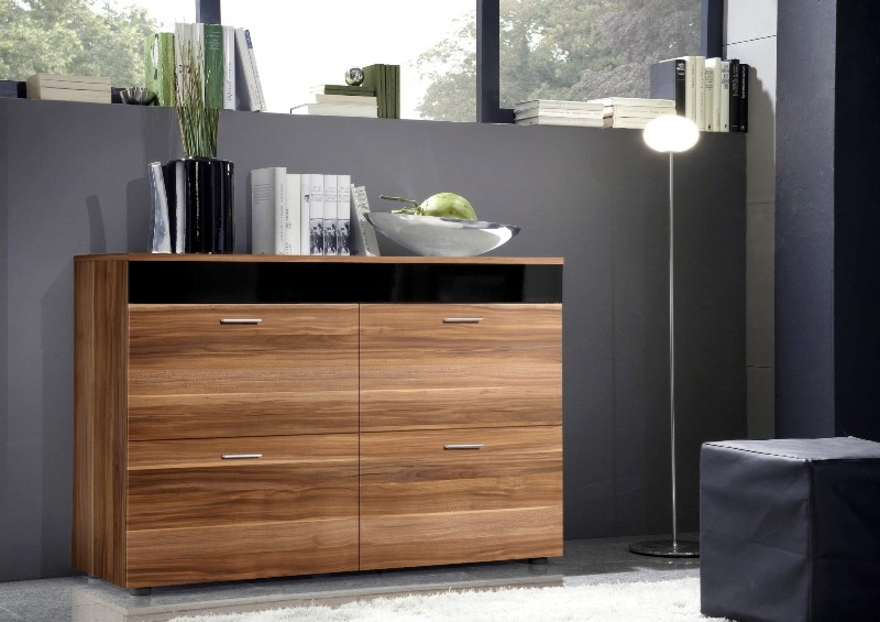 Paris SB 3 - Plum chest of drawers