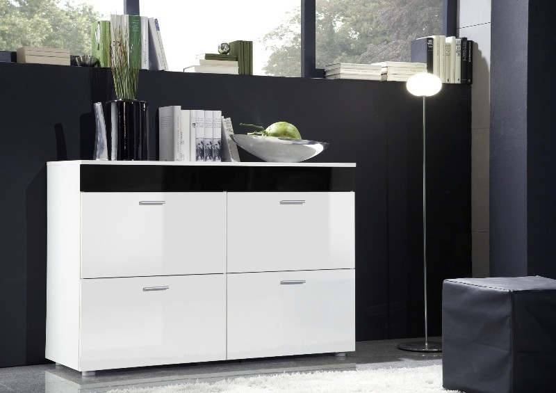 Paris SB 1 - White chest of drawers