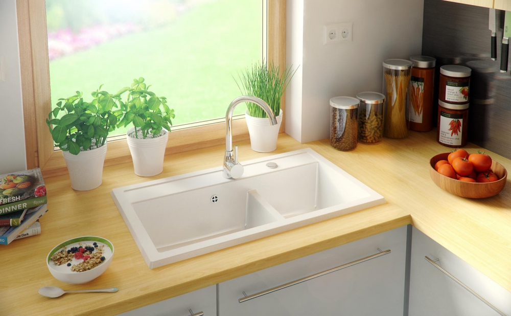 PN-Kent composite granite sinks