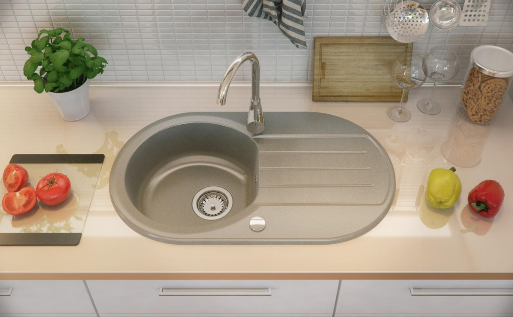 PN-Richmond white undermount kitchen sink