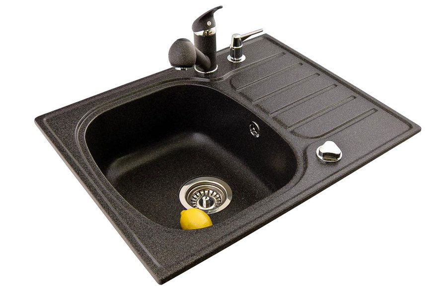 BR-Pawo - Easy to clean composite granite sinks