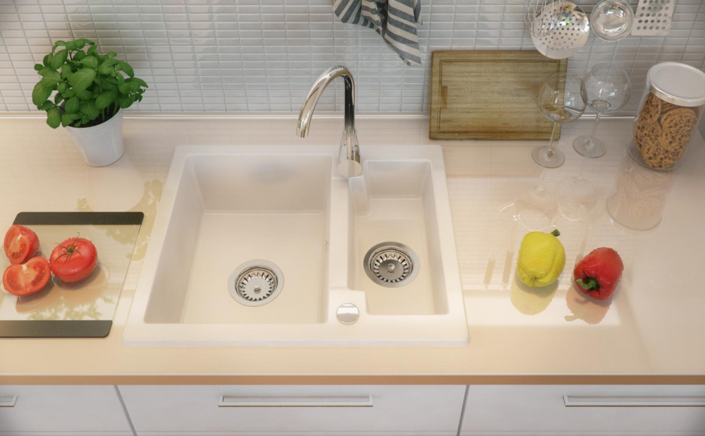 PN-Porto granite sink kitchen