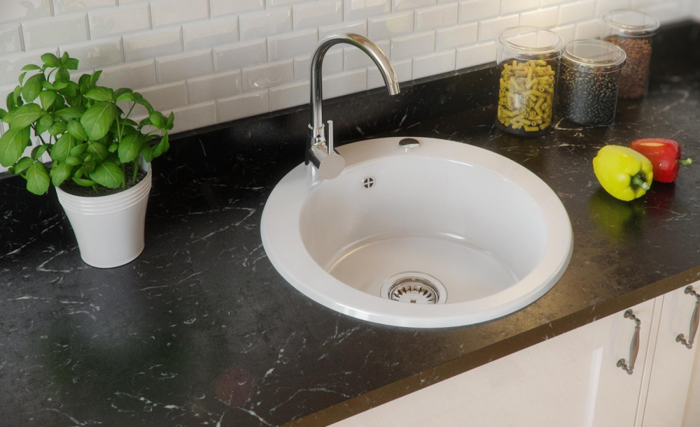 PN-Garland granite composite kitchen sinks