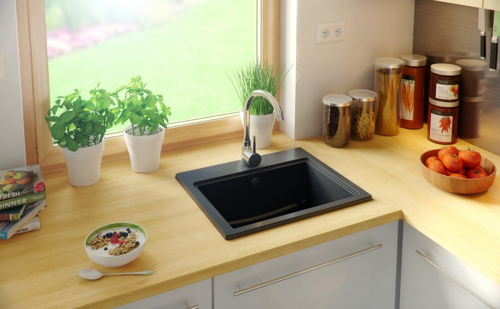 PN-Olathe composite granite kitchen sink