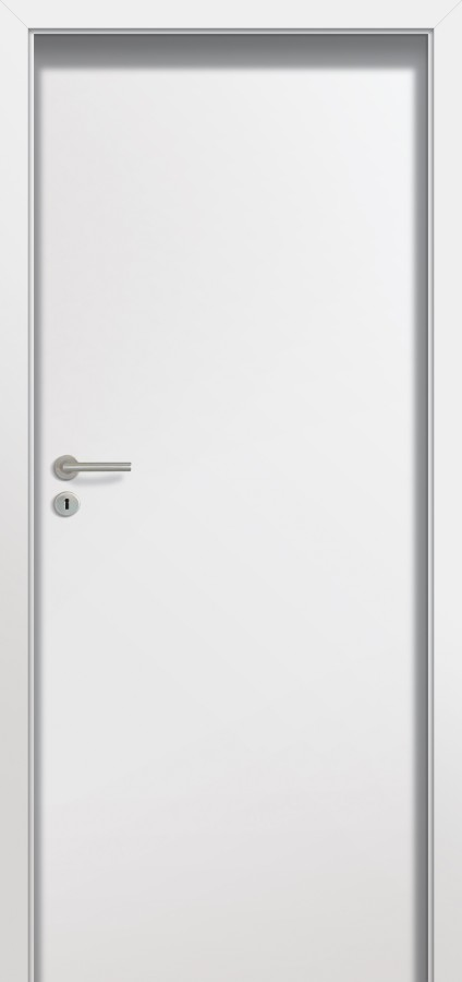 Plano CAM - simple white interior door