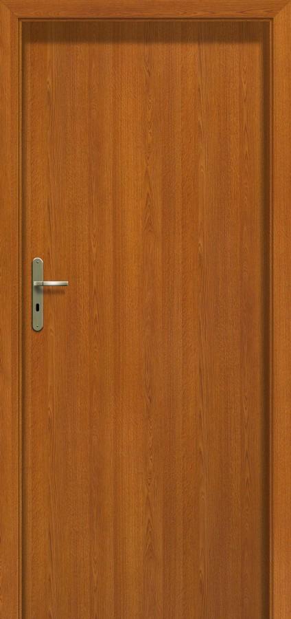 Plano DEC - wooden rail interior door