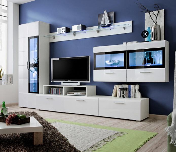 Kane 4 - modern wall units for living room