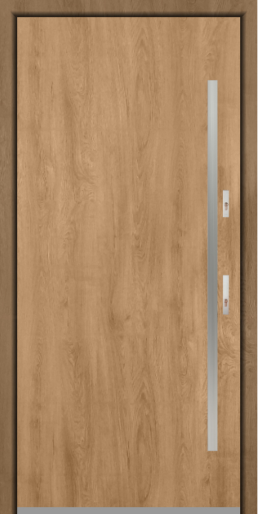 Fargo 1 - modern single front door