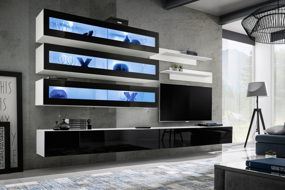 Idea J2 black - media wall unit promotion