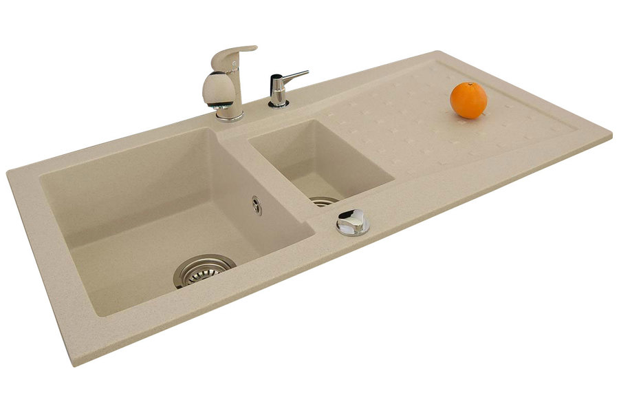 BR-Eridianus - 1,5 basin granite kitchen sink