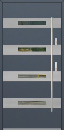 Fargo 35 - modern single front door