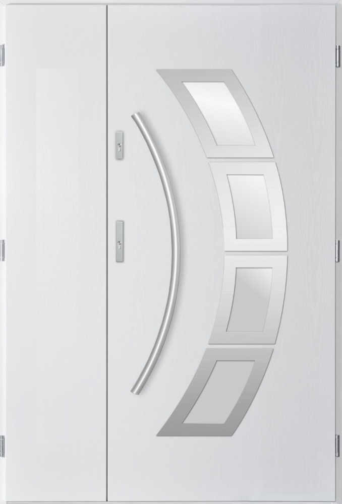 Taurus Uno - double front entry door