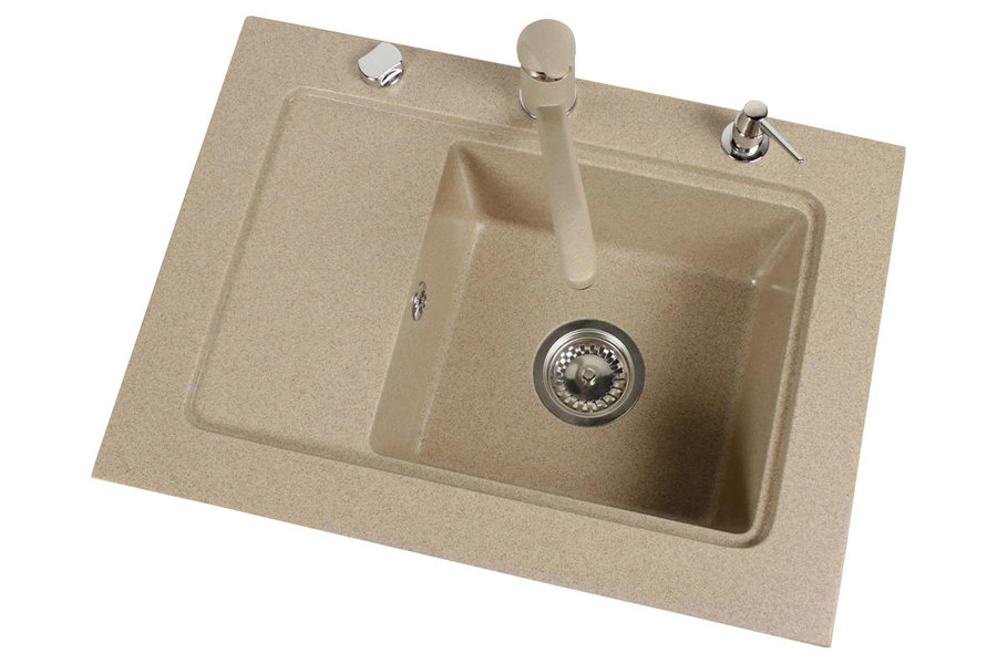BR-Nubiru 1 - one basin kitchen sink