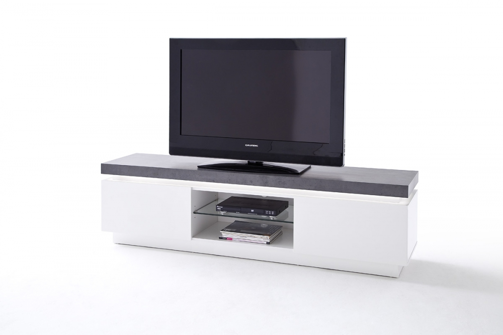 Atlanta typ71 - TV  white media stand