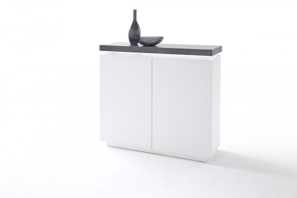 ATLANTA typ 78 - White black double dresser
