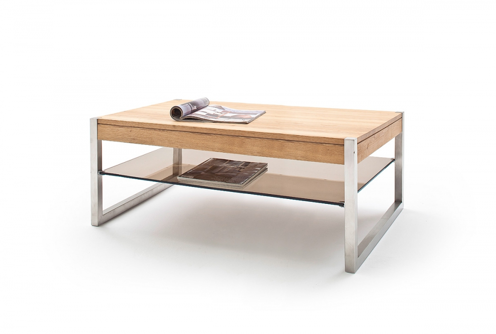 Migel - modern oak coffee table