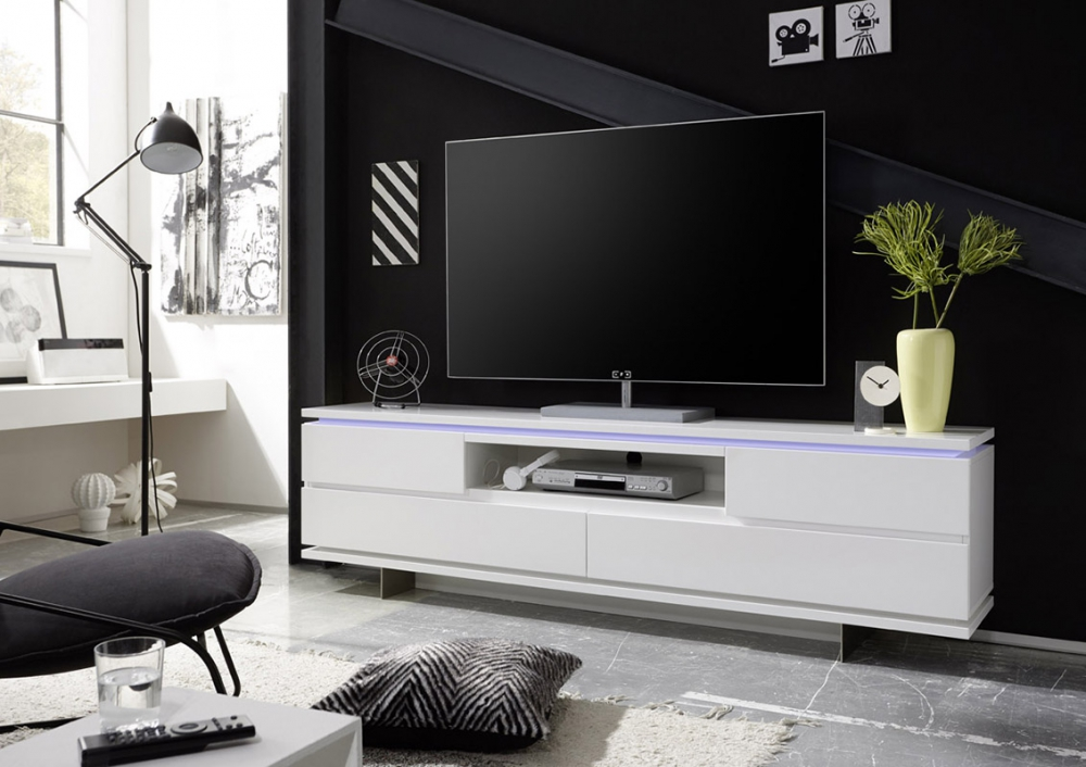 Balin - white modern tv stand