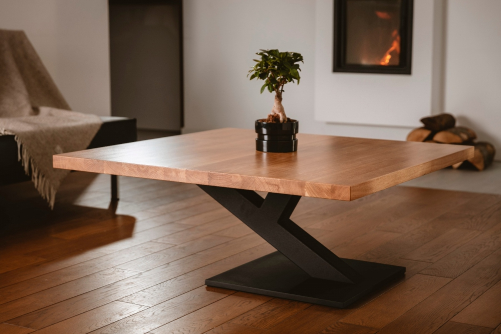 ZAFF 107 - solid oak coffee table