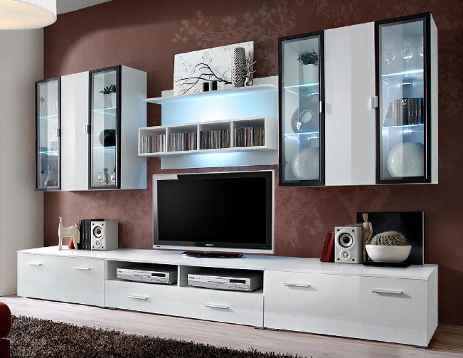 Malmo 3 - tv entertainment stand