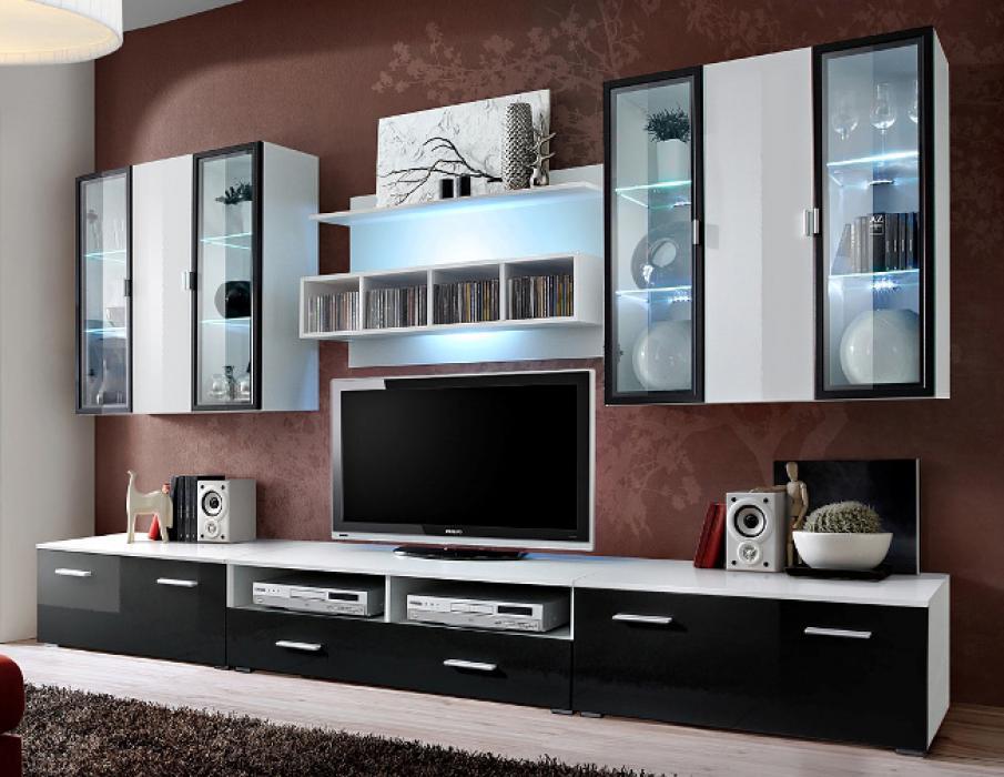 Malmo 4 - meuble tv haut