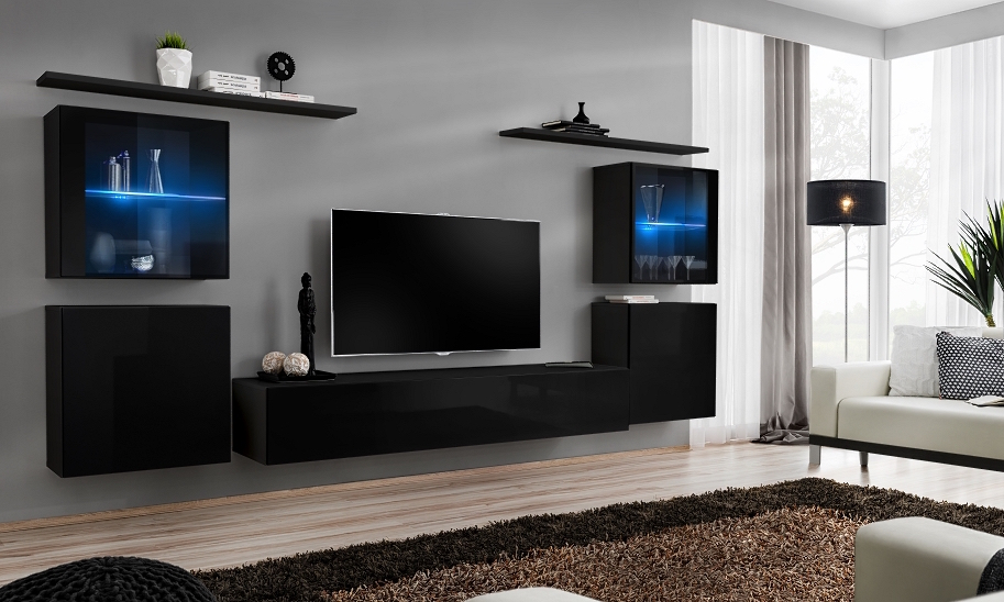 Shift 14 - modern tv wall unit