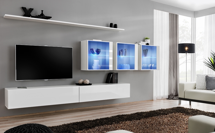Shift 17 - modern tv wall unit