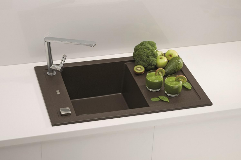 AS-Fresno 30 kitchen sink black