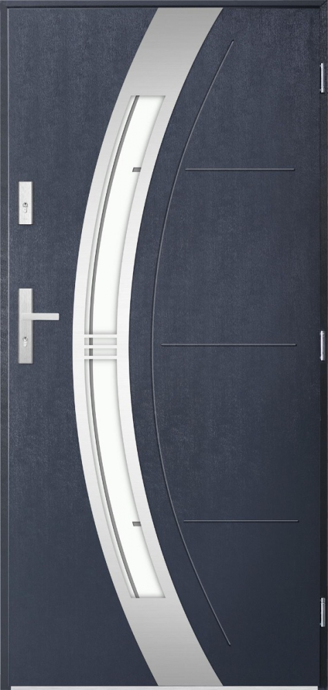 Andromeda single external door