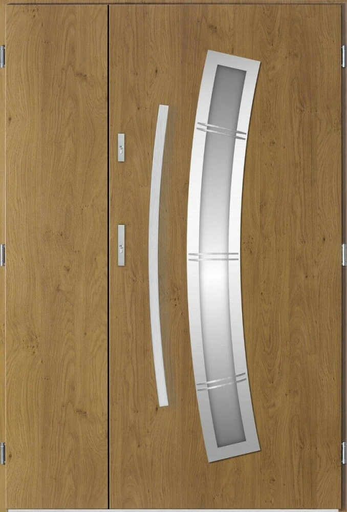 Apollo 3D Uno - modern double entry door
