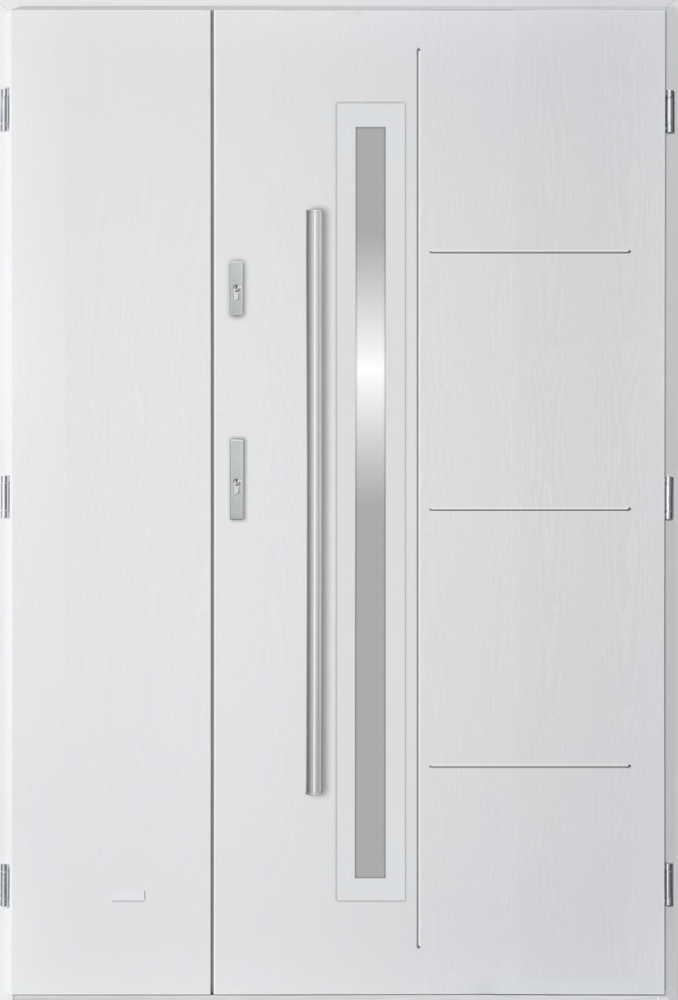 Arago Uno - entry door with sidelights
