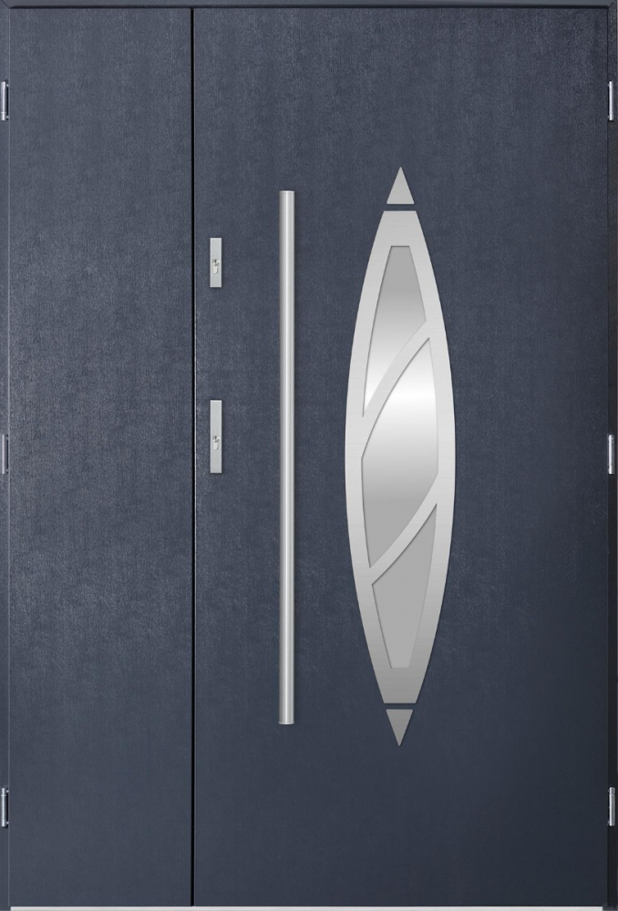 Aries Uno - composite front door with frame