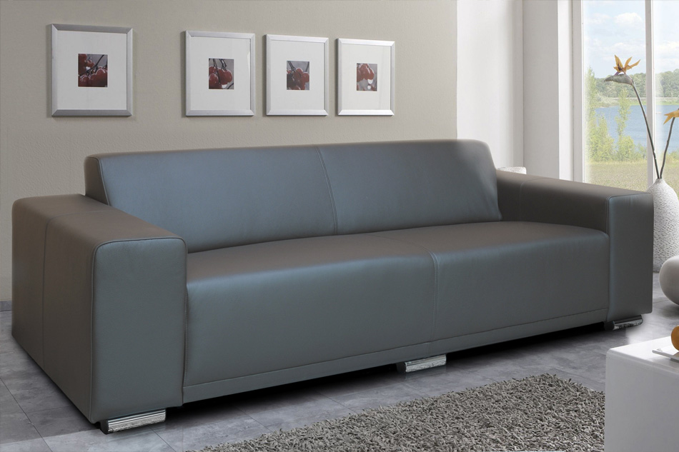 Boston - Faux leather sofa bed sale