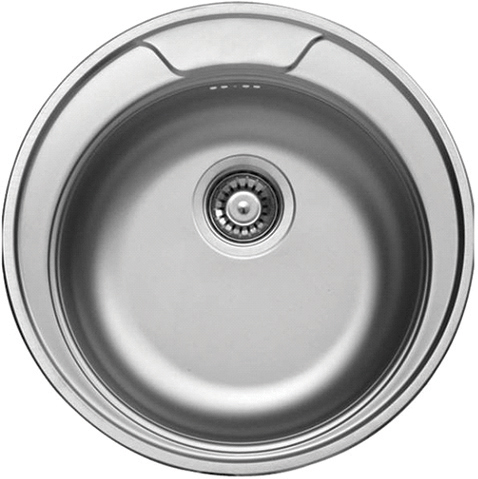 DE-Cornetto 2 undermount stainless steel kitchen sink