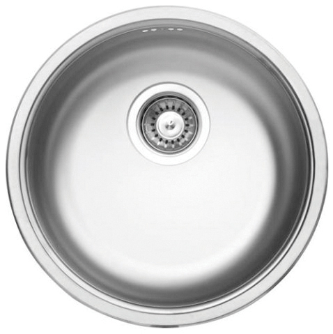DE-Cornetto 1 stainless steel undermount kitchen sinks