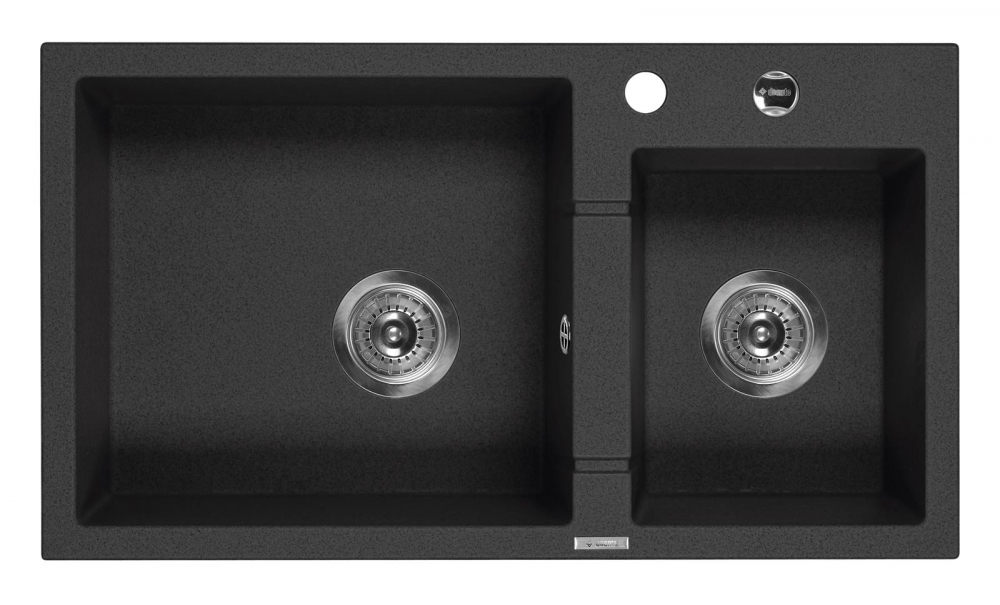 DE-Pavo 3 black sink