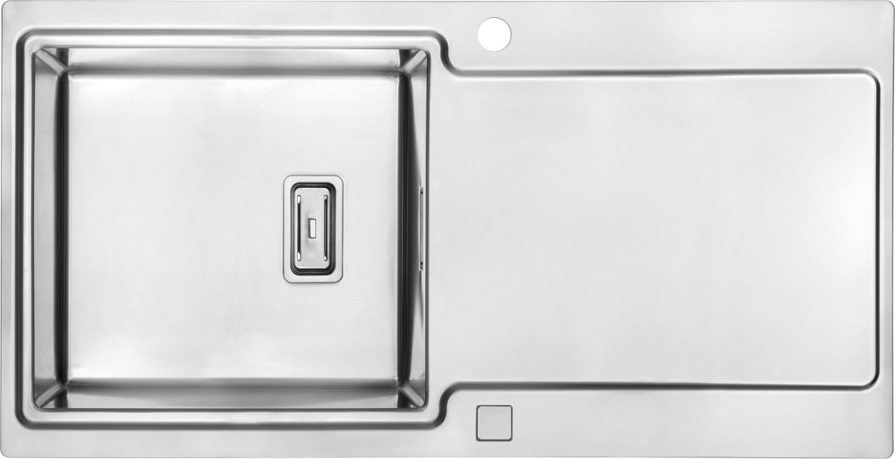 DE-Posper 1 sink kitchen stainless steel
