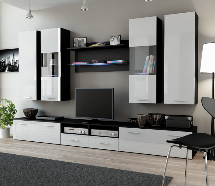 Toskan 3 - tv stand with storage
