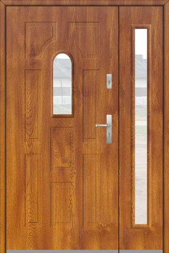 Fargo 2 DB - front doors with side panels