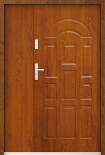 Europa Uno - solid entrance double door