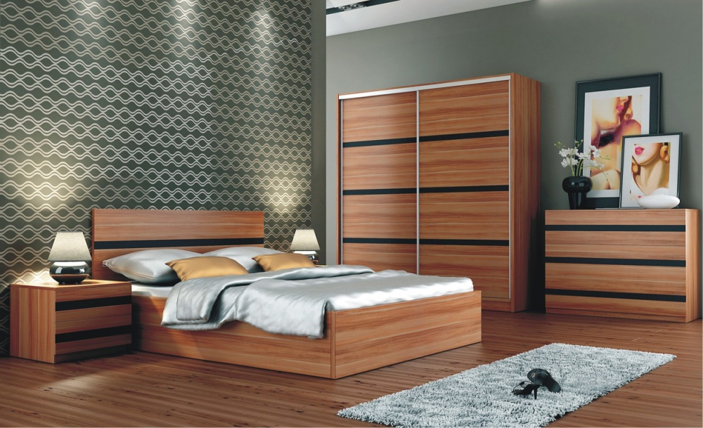 Florence - plum bedroom set