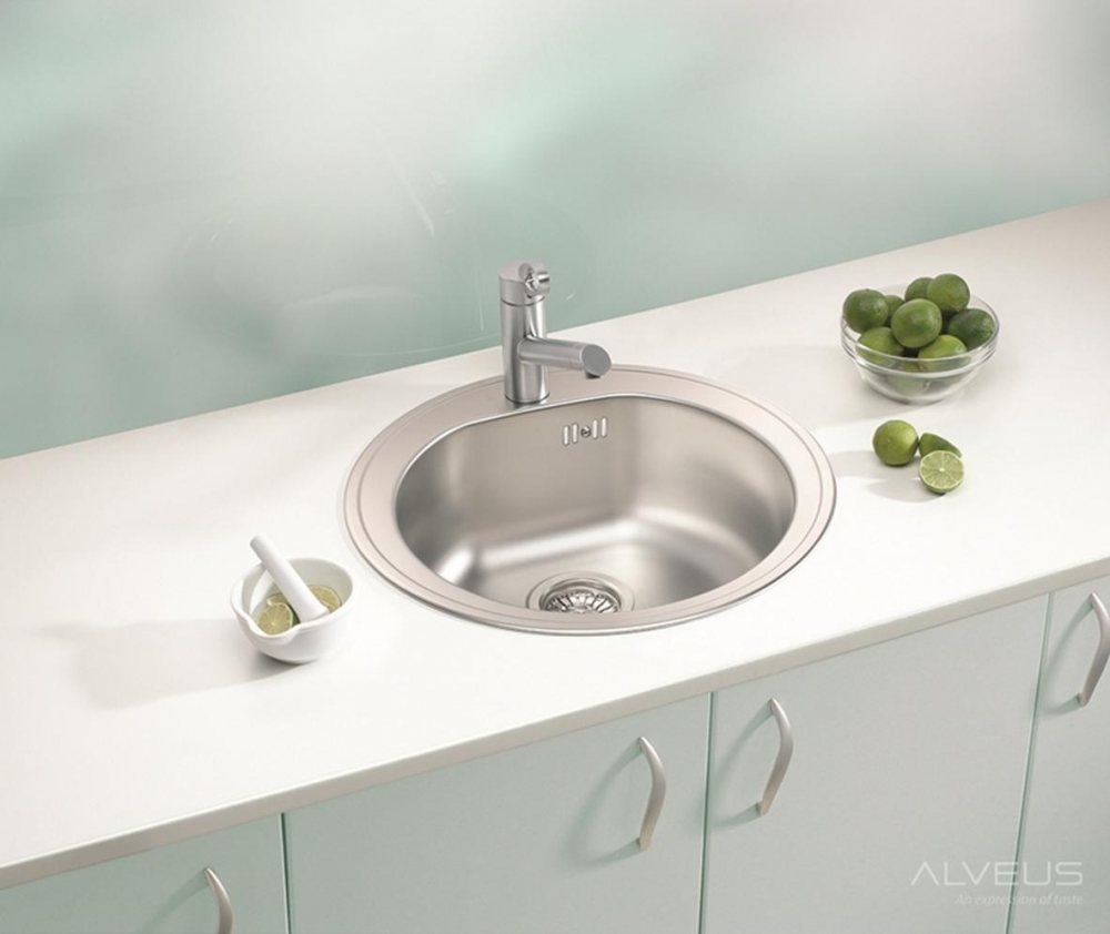AS-Fremont 30 round sinks stainless
