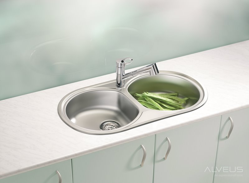 AS-Fremont 50 double sinks stainless